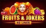 Fruits and Jokers: 40 Lines UK slot