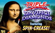 Triple Double Da Vinci Diamonds UK slot