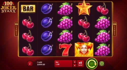 100 Joker Staxx UK slot game