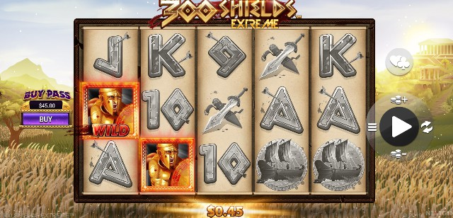 300 Shields Extreme UK slot game
