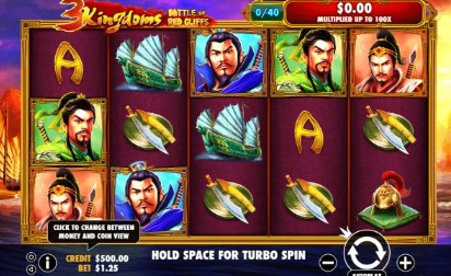 3 Kingdoms - Battle of Red Cliffs UK slot game