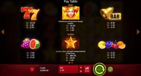 40 Joker Staxx UK slot game