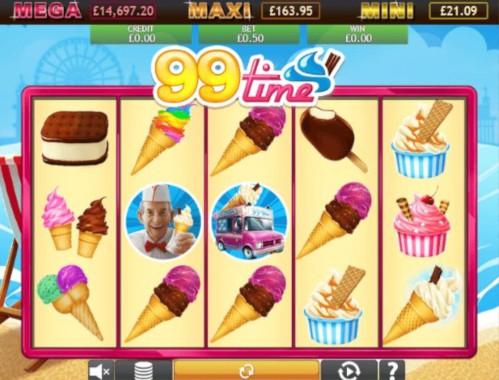 99 Time Jackpot UK slot game
