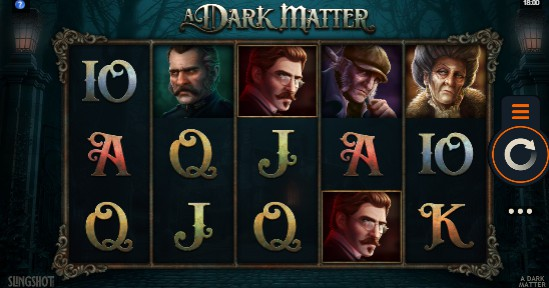 A Dark Matter UK slot game