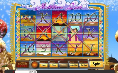 Aladdins Loot UK slot game