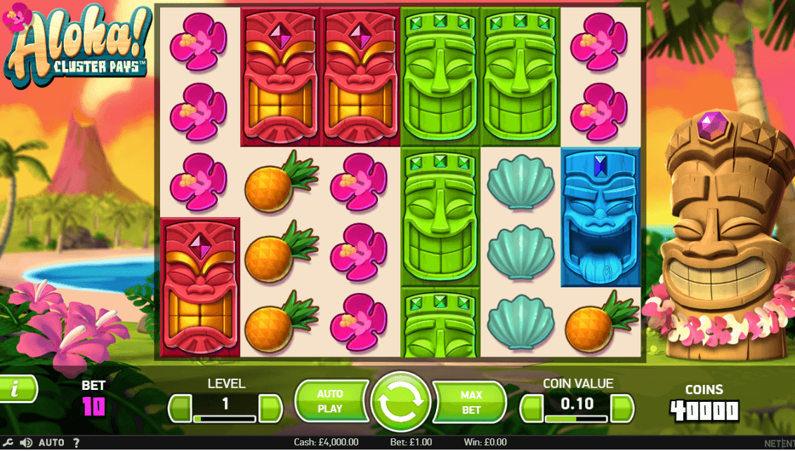 Aloha! UK slot game