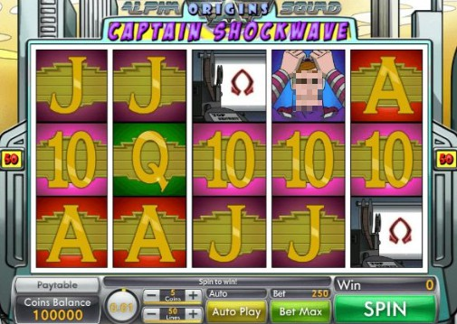 Alpha Squad Origins UK Slot