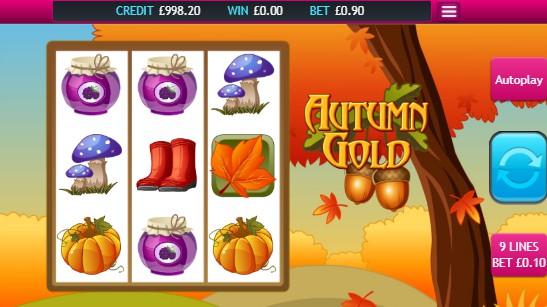 Autumn Gold UK slot game