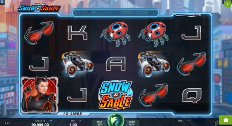 Action Ops: Snow and Sable UK slot game