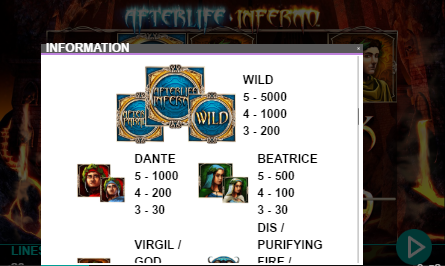 Afterlife: Inferno UK slot game