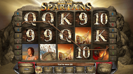 Age of Spartans UK slot game