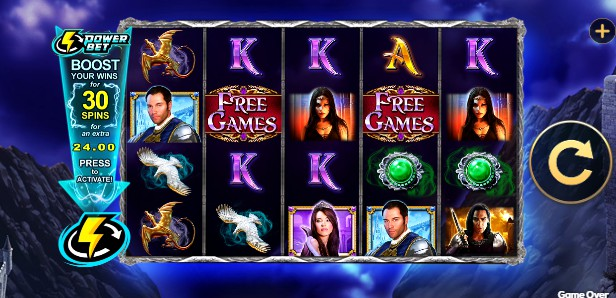 The Amulet and the Charm Power Bet UK slot game