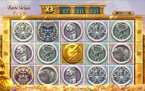 Ancient Fortunes: Zeus UK slot game