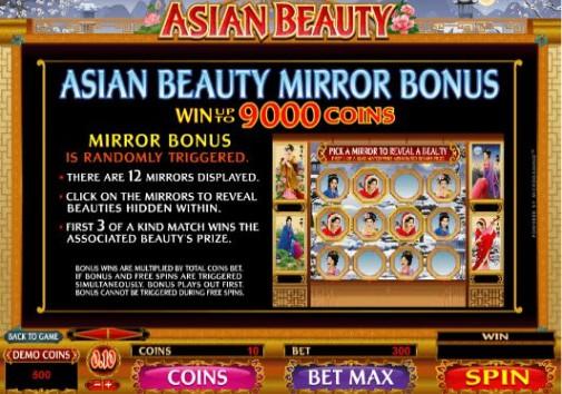 Asian Beauty UK slot game