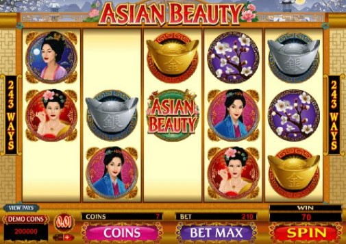 Asian Beauty UK Slot