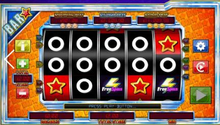 Bar Star UK slot game
