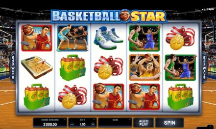 Basketball Star UK slot game