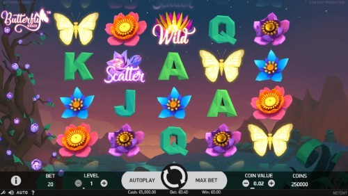 Butterfly Staxx UK slot game