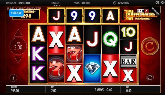 Bar-X Safecracker Megaways UK slot game