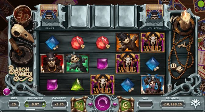 Baron Samedi UK slot game