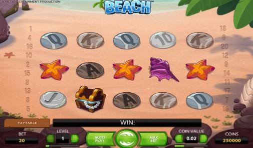 Beach UK Slots