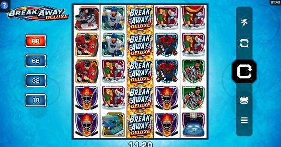 Break Away Deluxe UK slot game