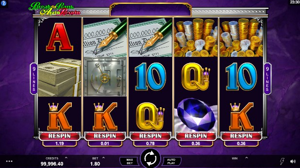 Break da Bank Again Respin UK slot game
