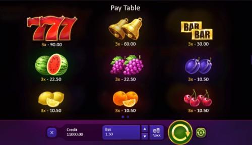 Burning Wins UK slot game