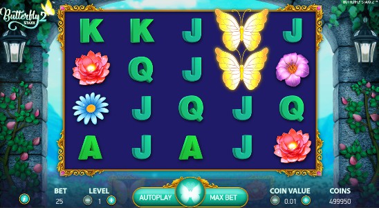 Butterfly Staxx 2 UK slot game