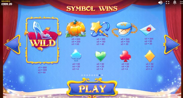 Cinderella's Ball UK slot game