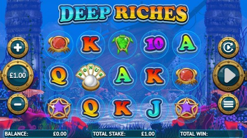 Deep Riches UK slot game