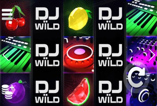 DJ Wild UK slot game