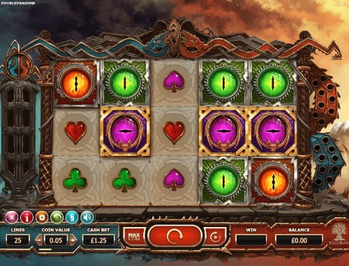 Double Dragons UK slot game