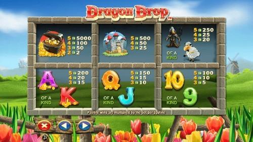 Dragon Drop UK slot game