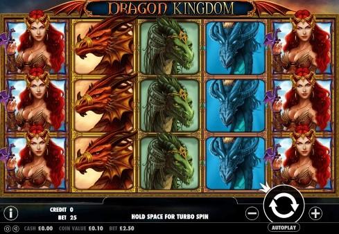 Dragon Kingdom UK slot game