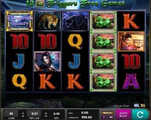 Dangerous Beauty UK slot game