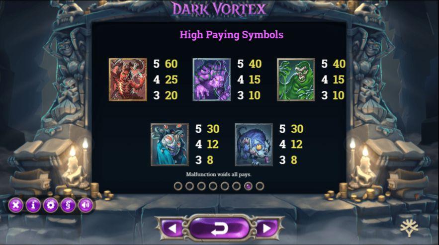 Dark Vortex UK slot game