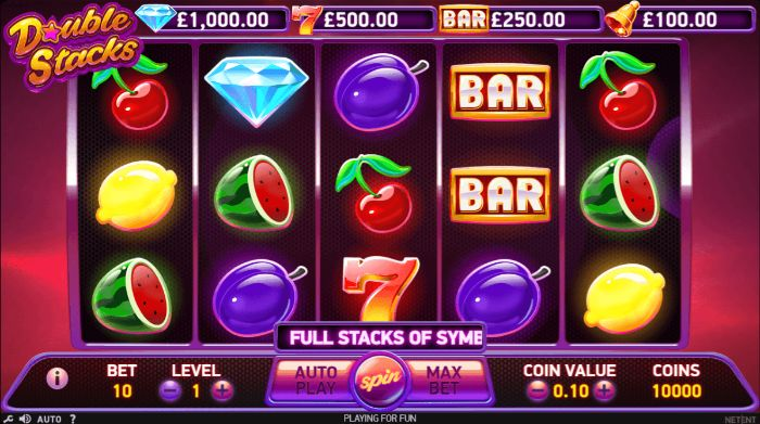 Double Stacks UK slot game