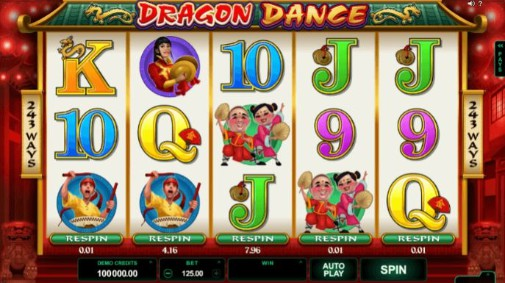 Dragon Dance UK Slot
