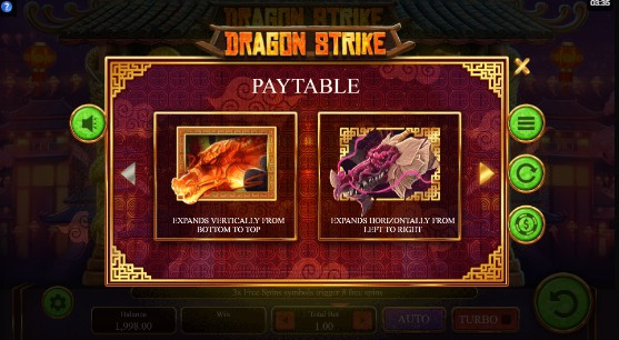 Dragon Strike UK slot game