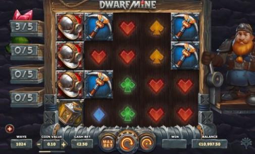 Dwarf Mine UK Slots