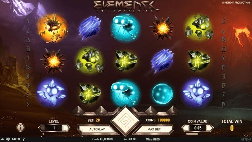 Elements UK slot game