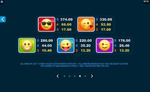 Emoticoins UK slot game