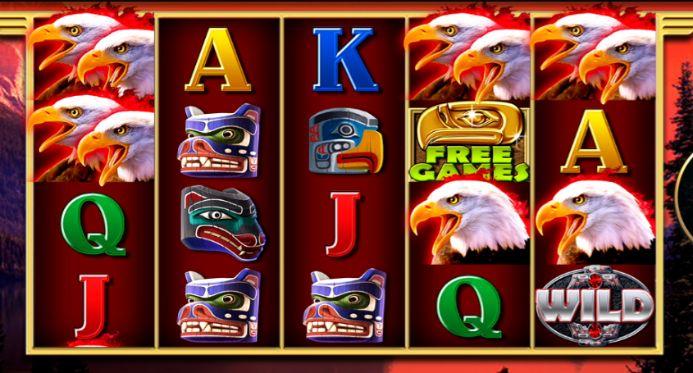 Eagles Flight UK slot game