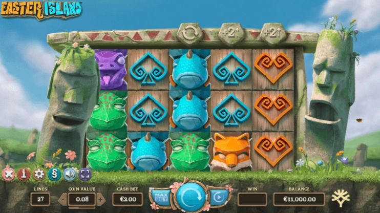 Easter Island UK slot game