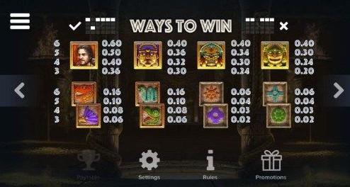 Ecuador Gold UK slot game