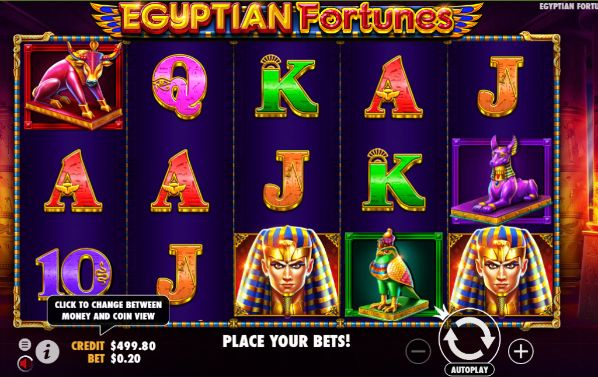 Egyptian Fortunes UK slot game