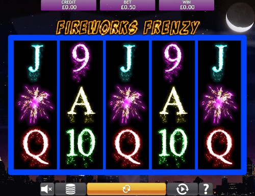 Fireworks Frenzy UK slot game