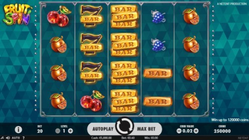 Fruit Spin UK slot game
