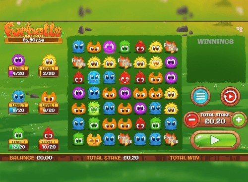 Furballs UK slot game